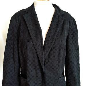 Talbot black blazer, size 14